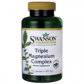 Triple Magnesium Complex 400mg SWANSON