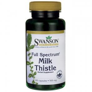 Ostropest plamisty 500 mg SWANSON